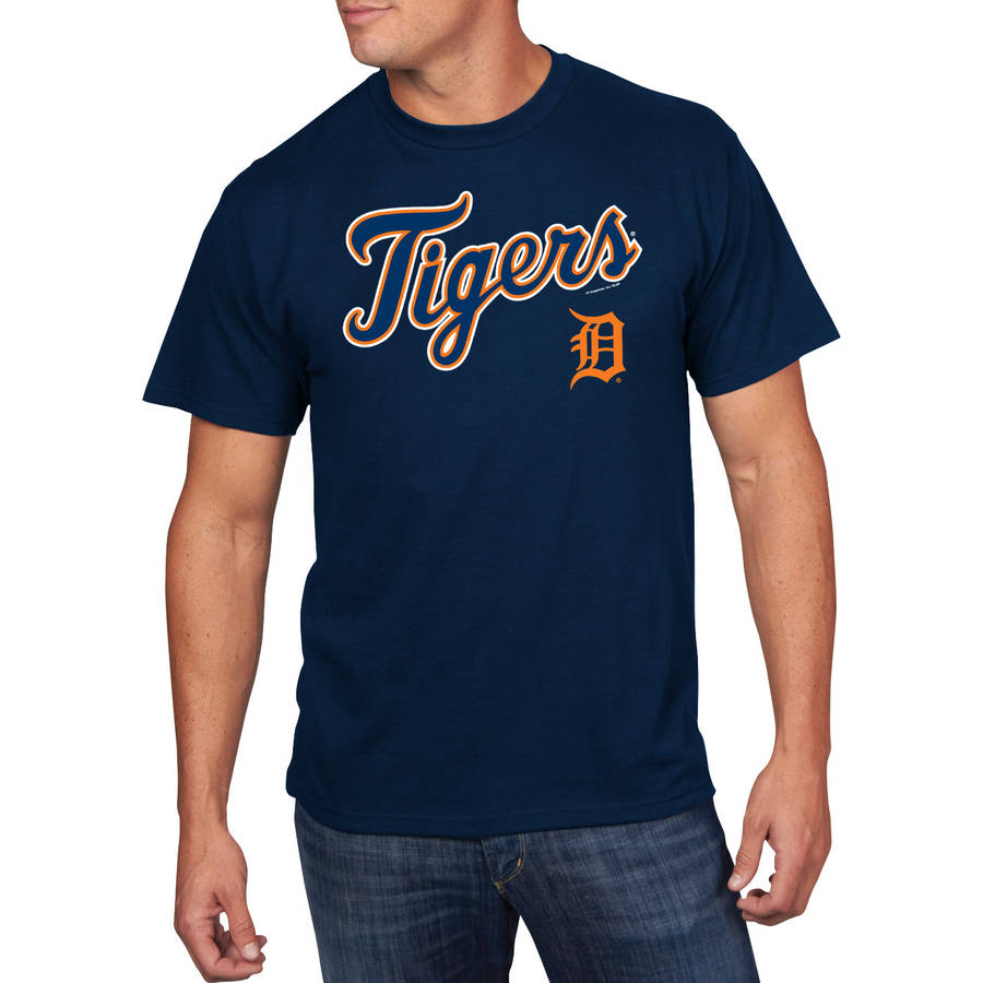 Big Men's MLB Detroit Tigers Team Tee