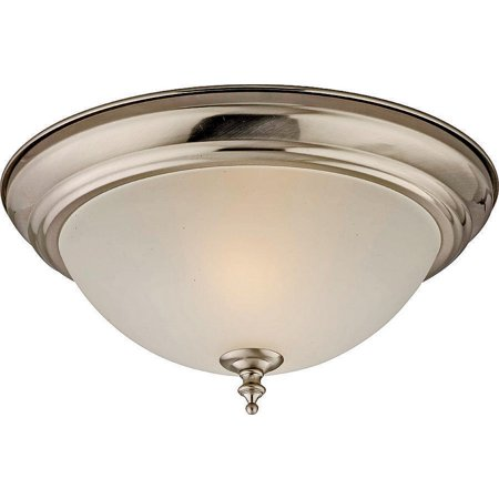 boston harbor f51wh02-1005-bn 6815757 dimmable ceiling light fixture, (2) 60/13 w medium a19/cfl lamp, brushed nickel Ceiling Fixture Boston Harbor