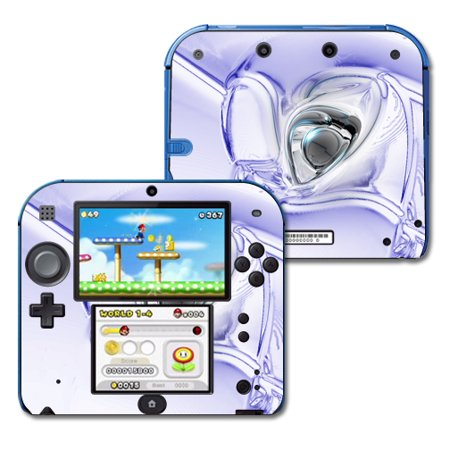 Mightyskins Protective Vinyl Skin Decal Cover for Nintendo 2DS wrap sticker  skins Glass