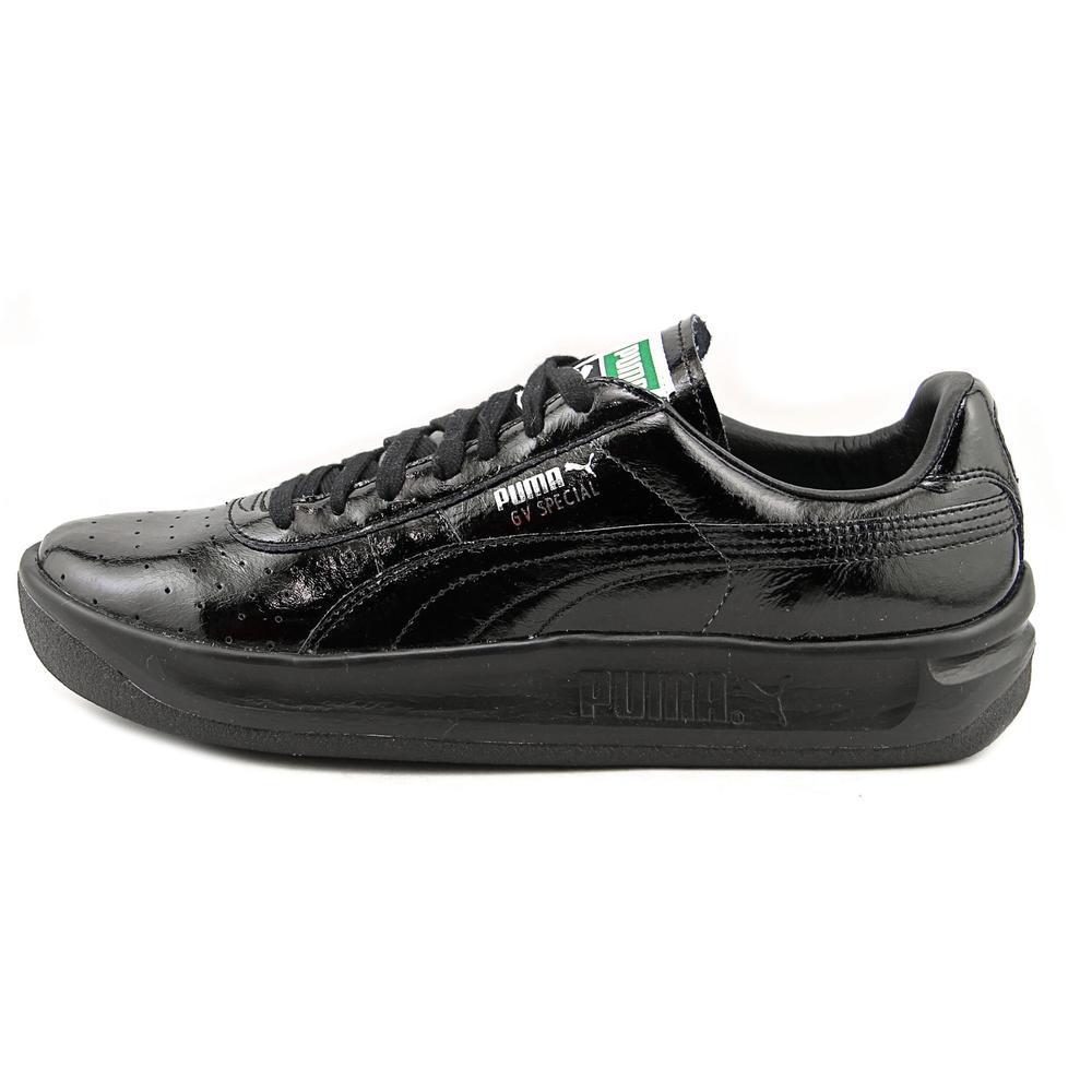 Puma GV Special Matte & Shine Men  Round Toe Leather Black Sneakers
