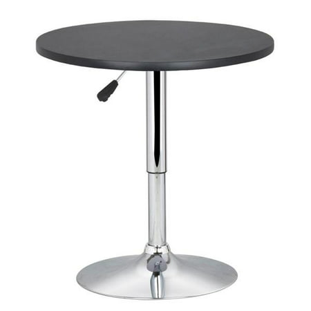Modern Swivel Counter Height Table Adjustable Pub Bistro Bar Cafe Tables ()
