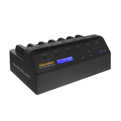 Aleratec 1:5 HDD Copy Dock Advanced Hard Disk Drive Duplicator by Aleratec