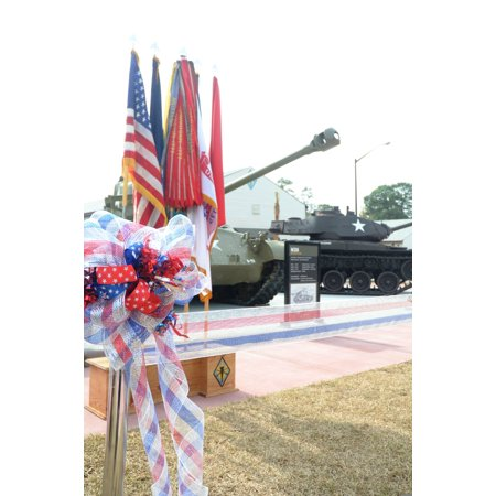 Canvas Print An M26 Pershing medium tank is among exhibits on display at the U.S. Army Basic Combat Training Muse Stretched Canvas 10 x 14 (Exhibit One Display)