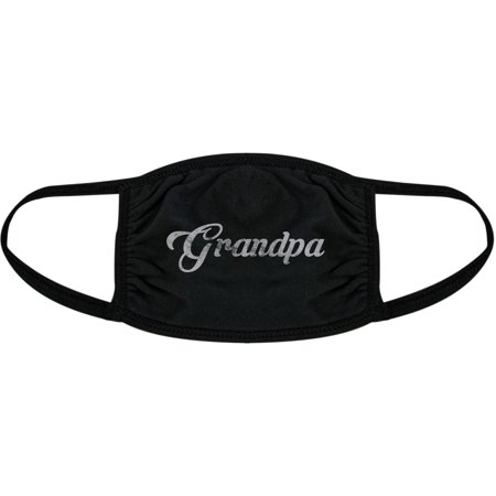 Grandpa Face Mask Cute Grandparents Family Novelty Graphic Nose And Mouth Covering
