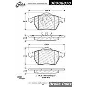 StopTech 309.06870 StopTech Sport Brake Pads;
