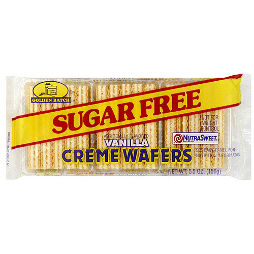 Golden Batch Vanilla Creme Wafers, 5.5 oz (Pack of 24)