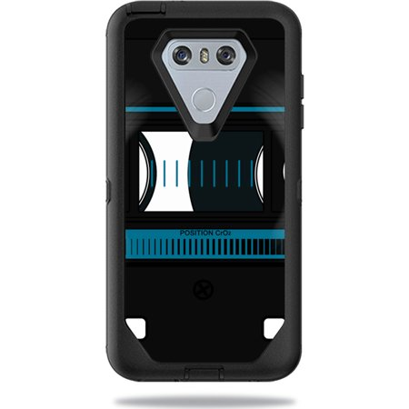 - MightySkins Protective Vinyl Skin Decal for OtterBox Defender LG G6 Case sticker wrap cover sticker skins Cassette Tape