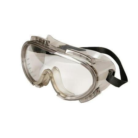 Chemical Splash Goggles - Encon Encompass Maximum Chemical Splash Protection Safety Goggles, Grey / Clear ENFOG