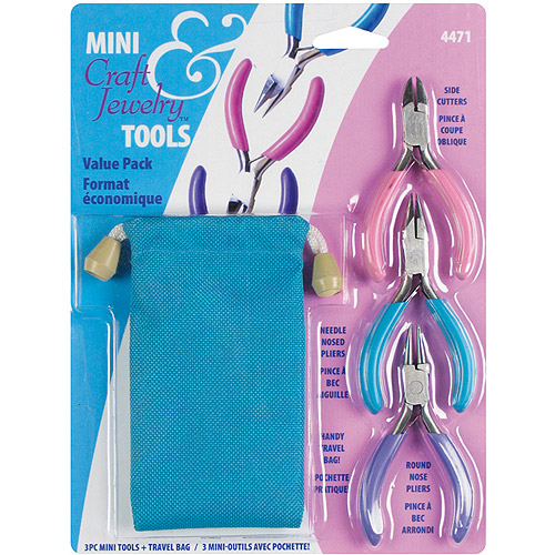Craft & Jewelry Mini Tool Travel Kit, 3 Pieces