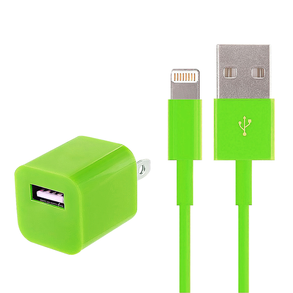 2-in-1 Home Charger for Apple iPhone 7/6/5