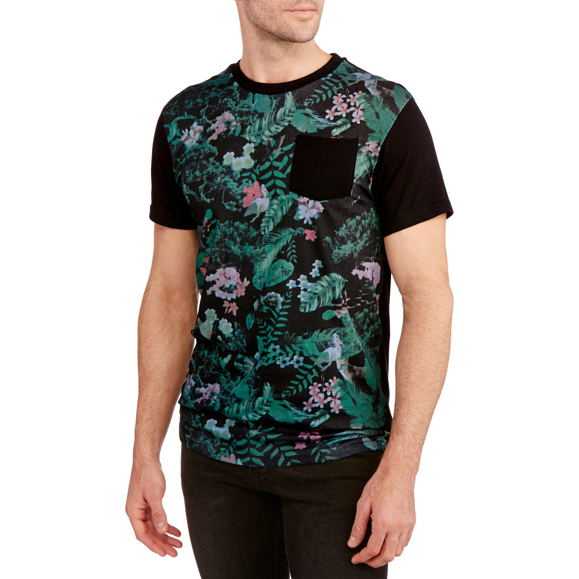 Jungle Printed Men's Graphic Tee