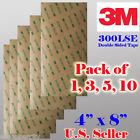 """3M 300LSE 4"""" x 8"""" (1/3/5/10 Sheets) Double Sided Sticky Adhesive Tape High Bond Good for Repair Phone , Camera , Digitizer Iphone S4 6 7 5 Samsung Note"""
