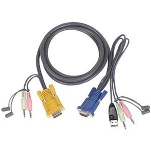 IOgear KVM USB Cable With Audio G2L5305U