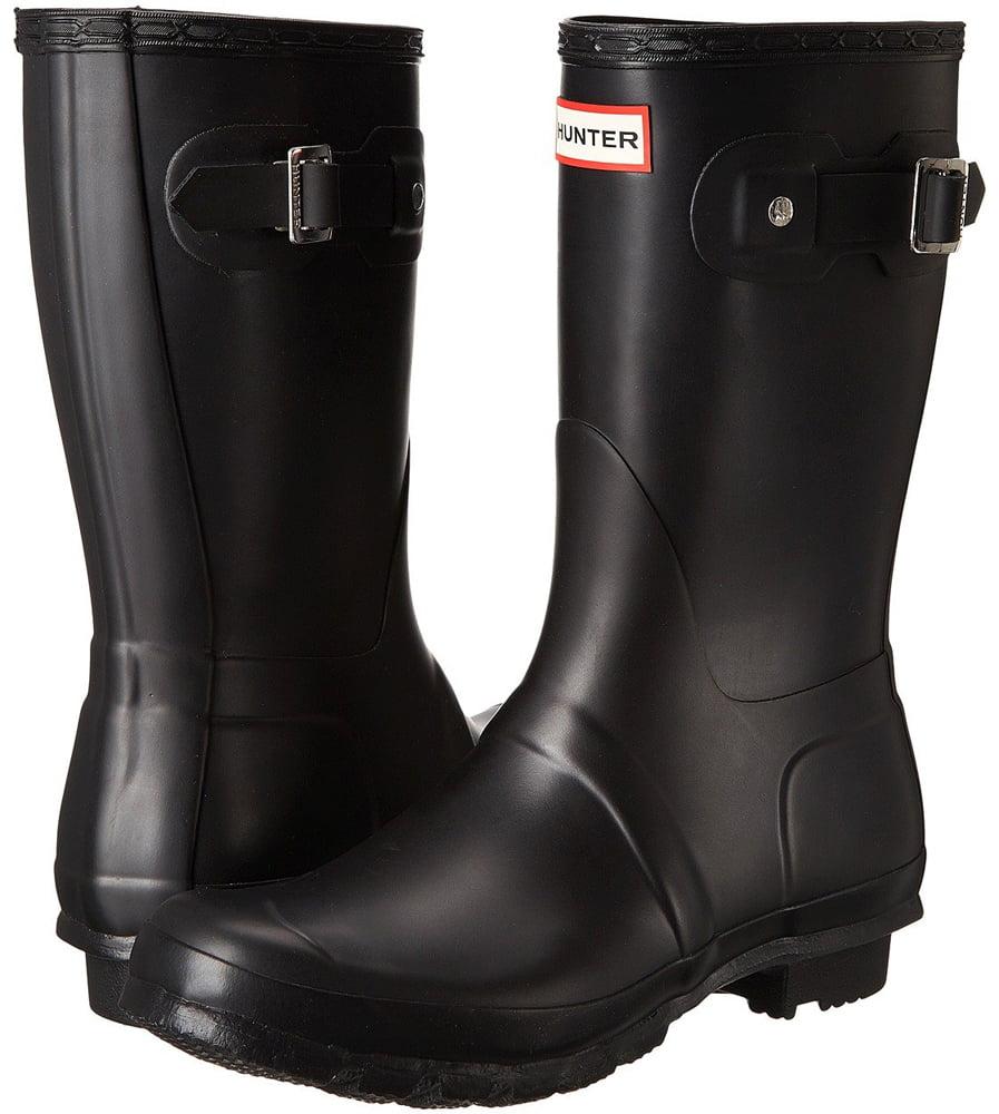 Hunter Women's Original Short Rain Boots (Black / Size 9)