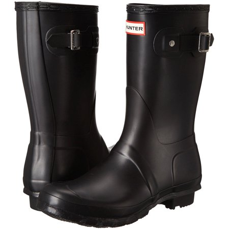Hunter Women's Original Short Rain Boots (Black / Size 9) ()