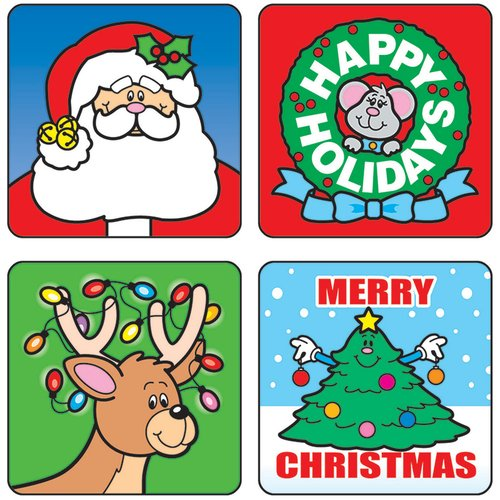 Frank Schaffer Publications/Carson Dellosa Publications Christmas Sticker