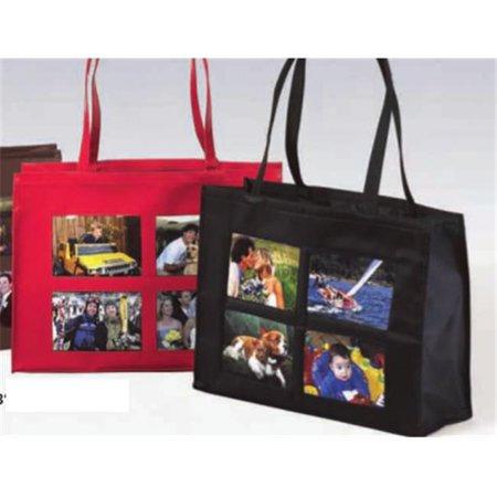 Joann Marie Designs Nph4pbl 4 Pocket Photo Tote   Black Pack Of 2
