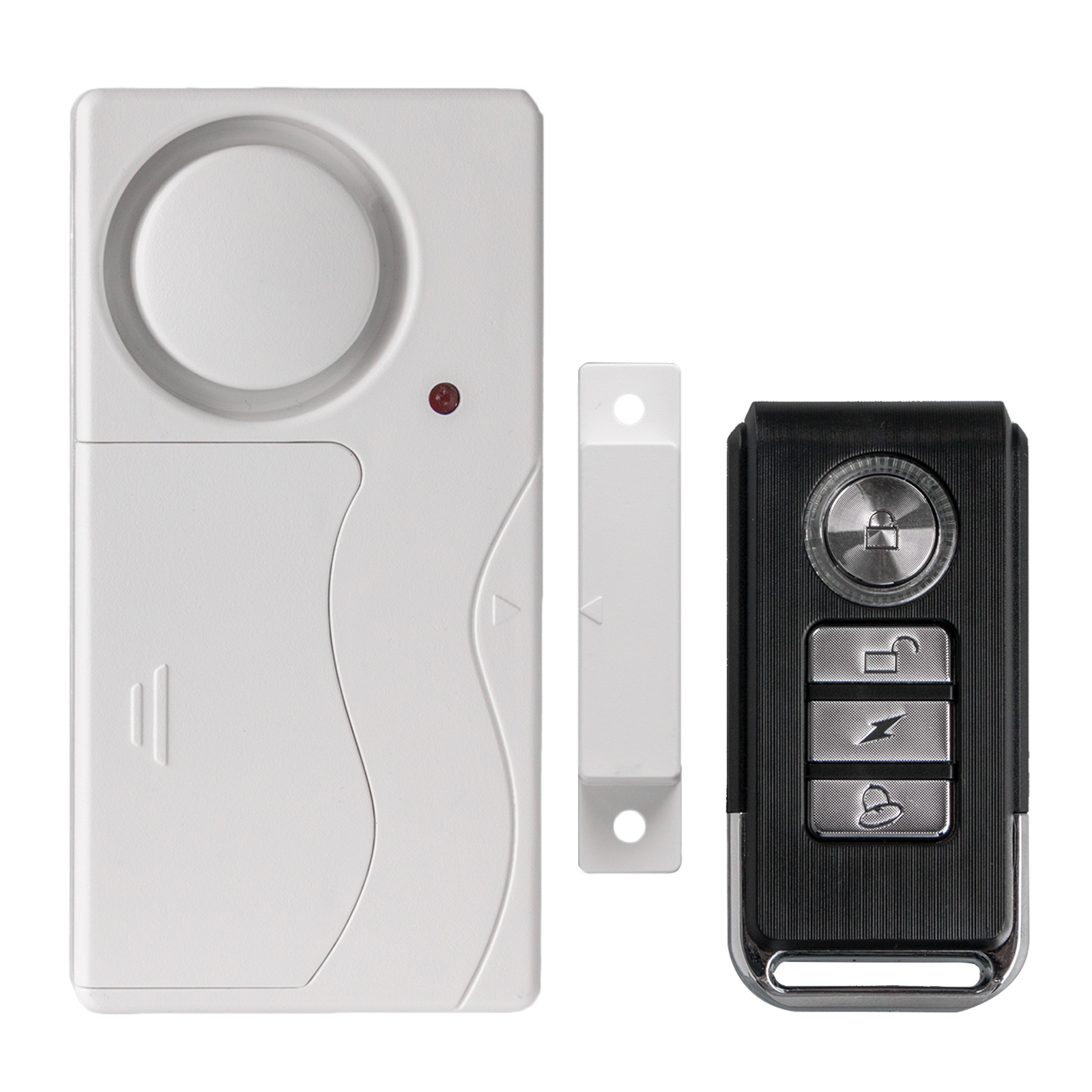 TSV Wireless Anti-Theft Monitor Remote Control Door and Window Security Alarms Magnetic Sensor Home Door Entry