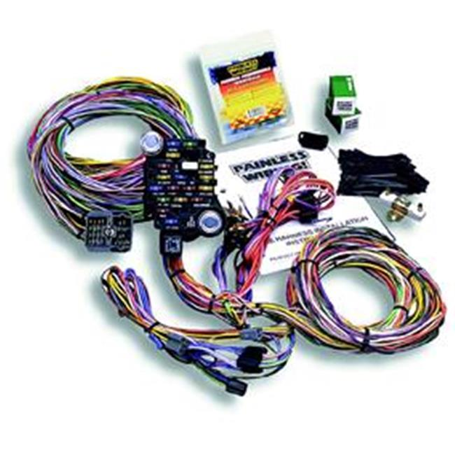 Painless Wrg 10205 Chassis Wiring Harness, 18 Circuit