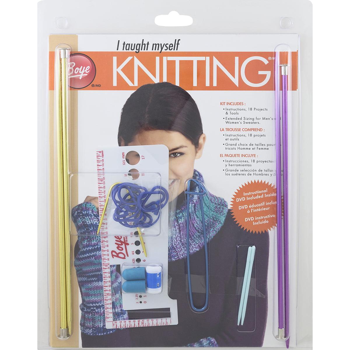 I Taught Myself Knitting Kit-