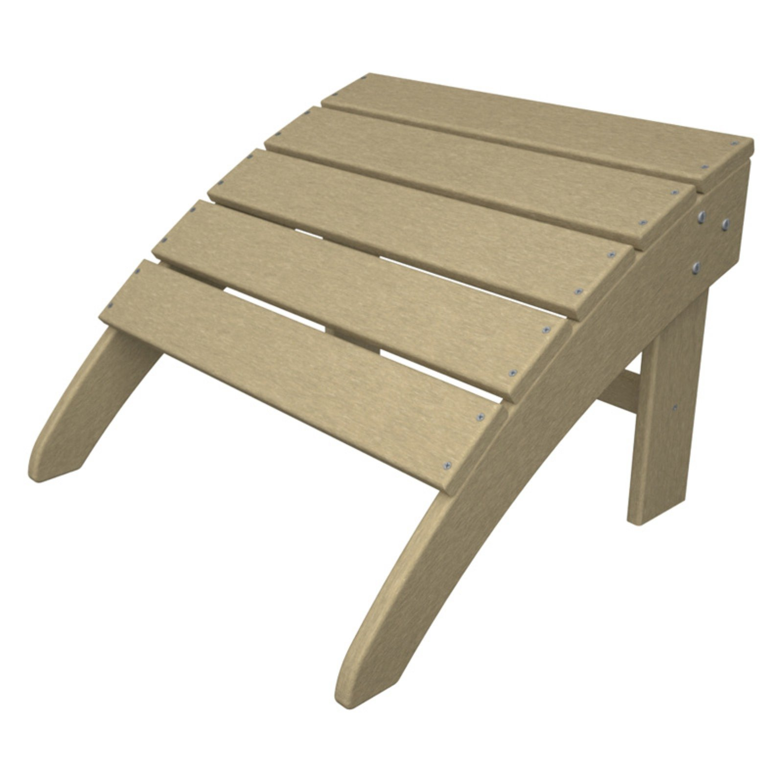 Trex Outdoor Furniture Recycled Plastic Cape Cod Ottoman
