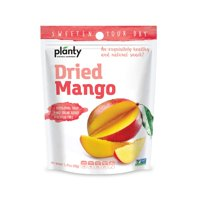 Planty Dried Fruit Snacks, No Sugar Added, Non-GMO, Vegan and Kosher Certified (Mango, 1-Pack)