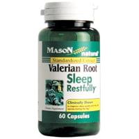 Mason Valériane naturel racine Capsules Complément alimentaire, le sommeil restfully - 60 Ea