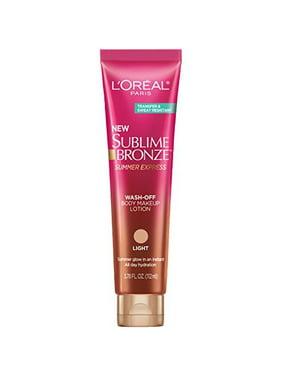 L'Oreal Paris Skin Care Sublime Bronze Instant Tan Product, 3.5 Fluid Ounce