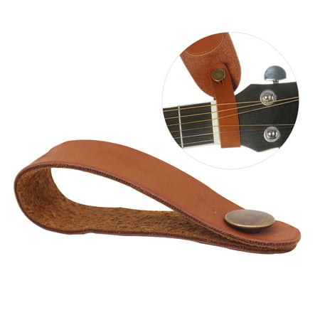 2 Inch Guitar Strap Green - Acoustic Guitar Neck Strap Button Headstock Adaptor Synthetic Leather