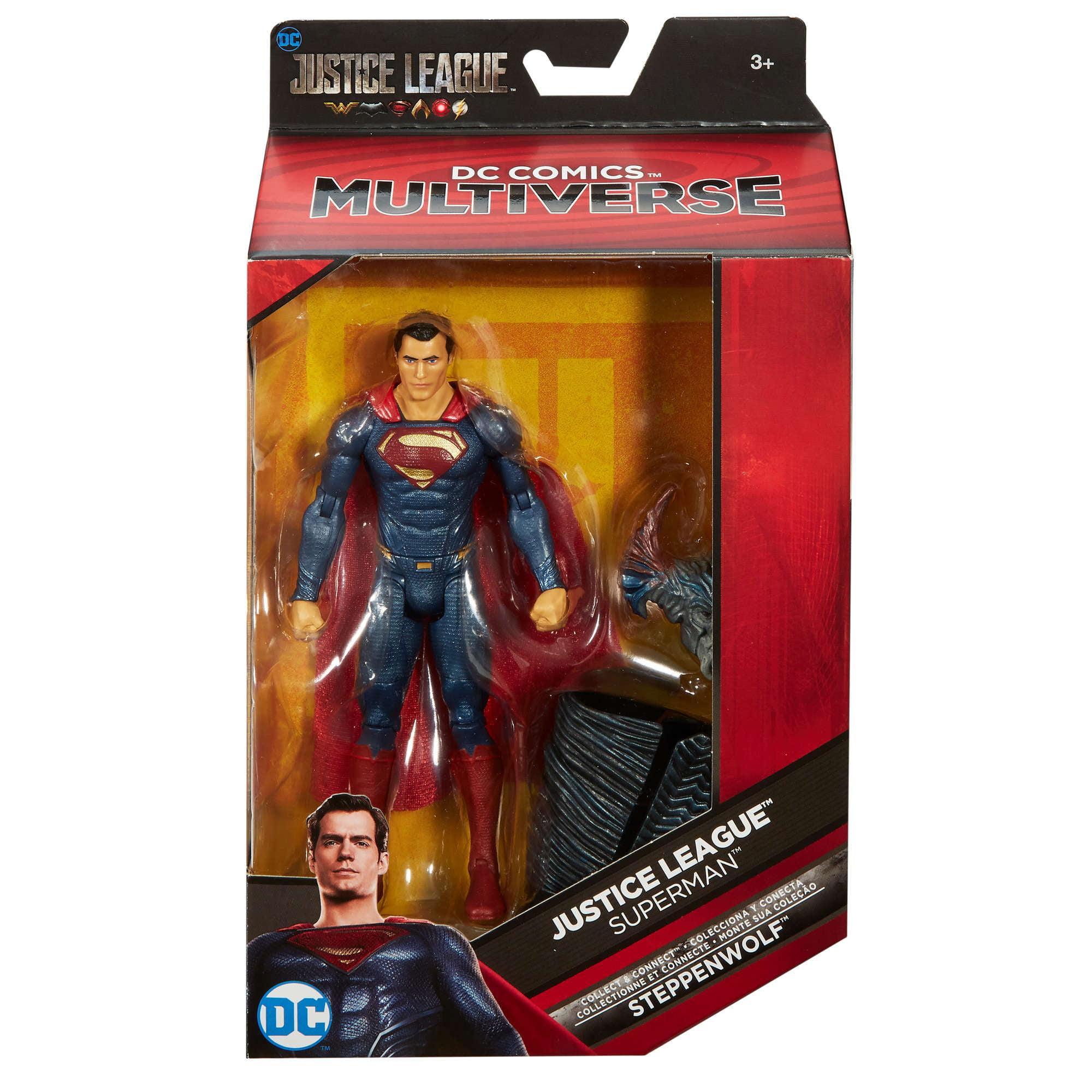 404802a9a4a4 DC Comics Multiverse Justice League Superman Action Figure - Walmart.com