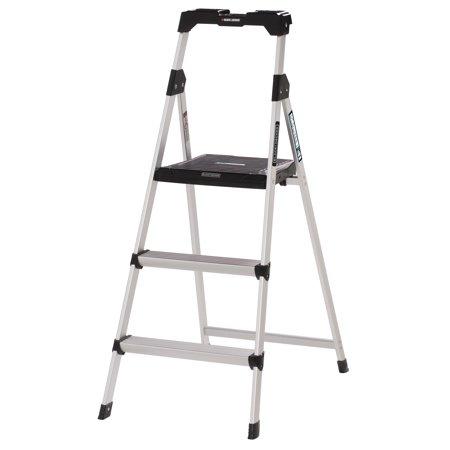 Black And Decker Aluminum Step Stool Ladder 225 Lb