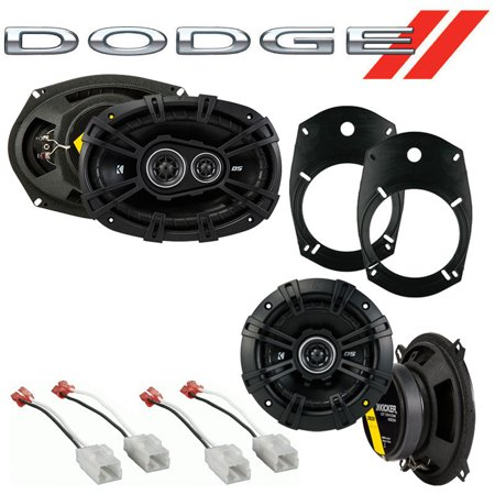 Fit Dodge Ram Truck 1500 2002-2008 Factory Speaker Replacement Kicker DS