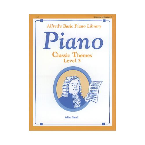 Alfred 00-3123 Basic Piano Course- Classic Themes Book 3 - Music Book