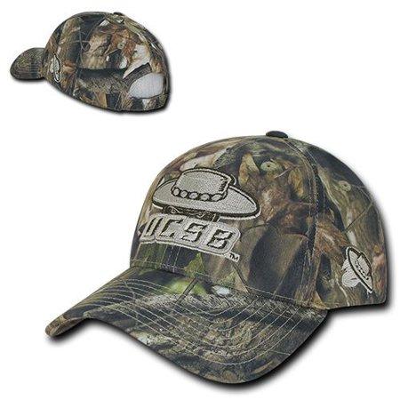UC Santa Barbara Gauchos UCSB Camo Cotton Adjustable Structured Baseball Cap Hat - Spanish Gaucho Hat