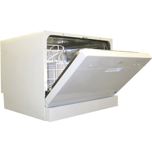Sunpentown Countertop Dishwasher, White