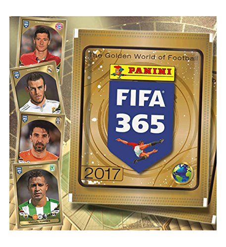 2017 PANINI FIFA 365 SOCCER STICKERS 50 PACK FACTORY SEALED BOX TOTAL OF 350 STICKERS