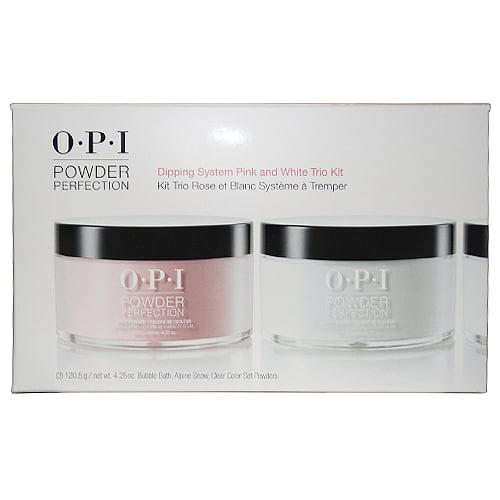Opi Powder Nail Polish Kit: OPI Powder Perfection Dipping System Pink And White Trio