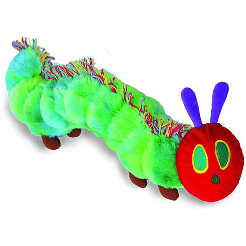 Eric Carle The Very Hungry Caterpillar Reversible Caterpillar/Butterfly Plush