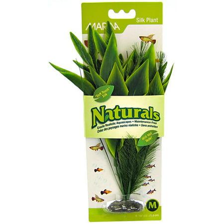 Natural Medium Green (Marina Naturals Green Dracena Silk Plant, Medium)