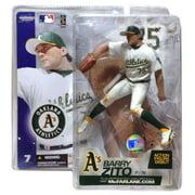 McFarlane MLB Sports Picks Series 7 Barry Zito Action Figure [White Jersey]