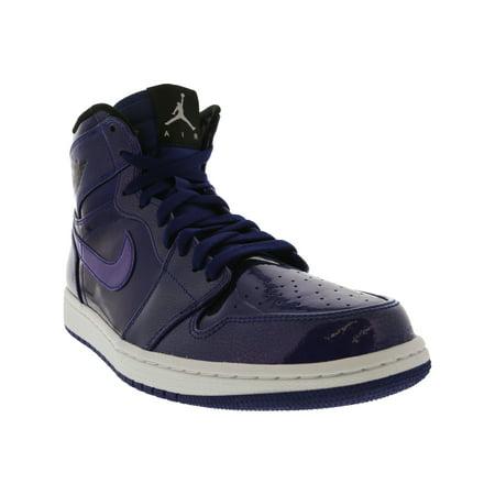 cc828571aaa2c Nike Men's Air Jordan 1 Retro High Cool Grey / White-Black-White High-Top  Basketball Shoe - 10M