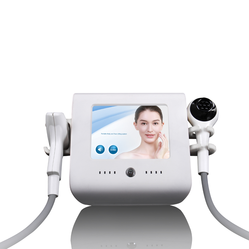 US Portable RF Face Radio Frequency Slimming Thermo Anti-...