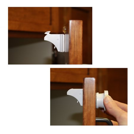7penn Magnetic Baby Proofing Lock 12 Pack Child Locks For Cabinets Drawers Doors