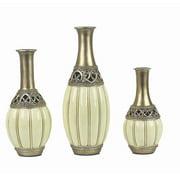 D'lusso Designs Juliana 3 Piece Vase Set