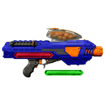 Adventure Force Tactical Strike Accelerator Motorized Team Competition Ball Blaster - Compatible with NERF Rival