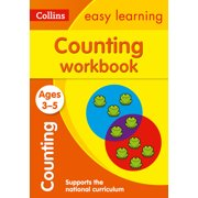 Collins Easy Learning Preschool: Counting Workbook: Ages 3-5 (Paperback)
