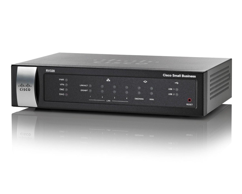 Cisco Systems Gigabit VPN Router (RV320K9NA) by Cisco