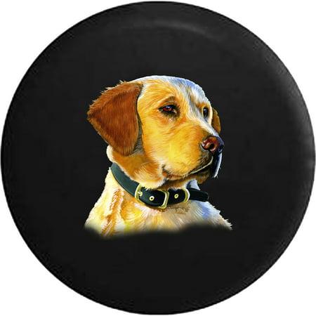 Golden Retreiver Dog Lover Adopt Rescue Spare Tire Cover for Jeep RV ()