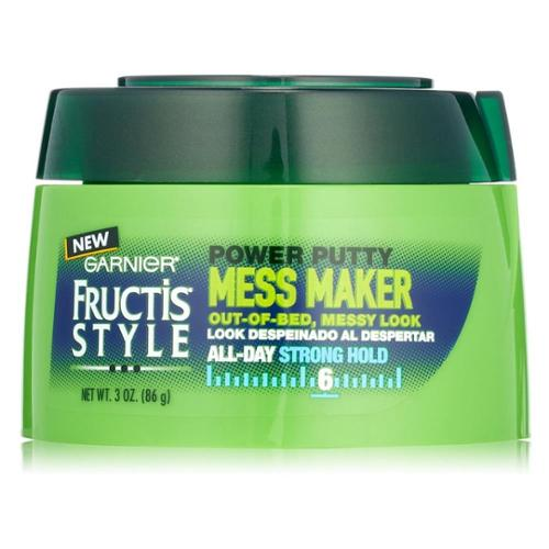 Garnier Fructis Haircare Mess Maker Power Putty 3 oz (Pack of 2)