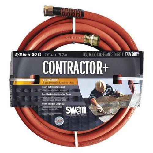 SWAN CSNCG58050 Water Hose,Cold Water,Red,PVC,50 ft. G0374011